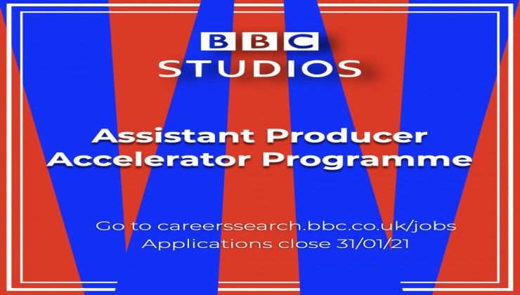 Learn more about BBC Studios Assistant Producer Accelerator Scheme