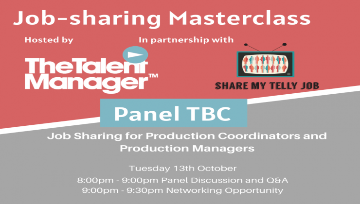 Job Sharing for Production Co-Ordinators and Production Managers