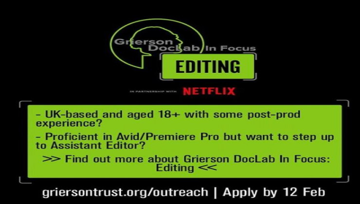Grierson DocLab In Focus: Editing