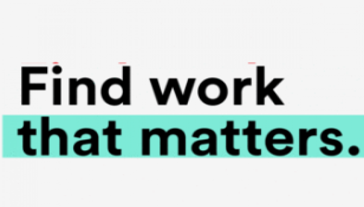 Find work that matters