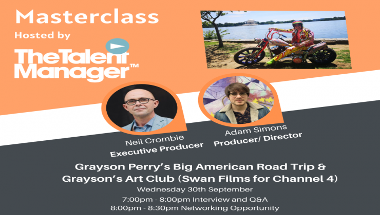 Masterclass: Grayson Perry's Big American Road Trip & Grayson's Art Club