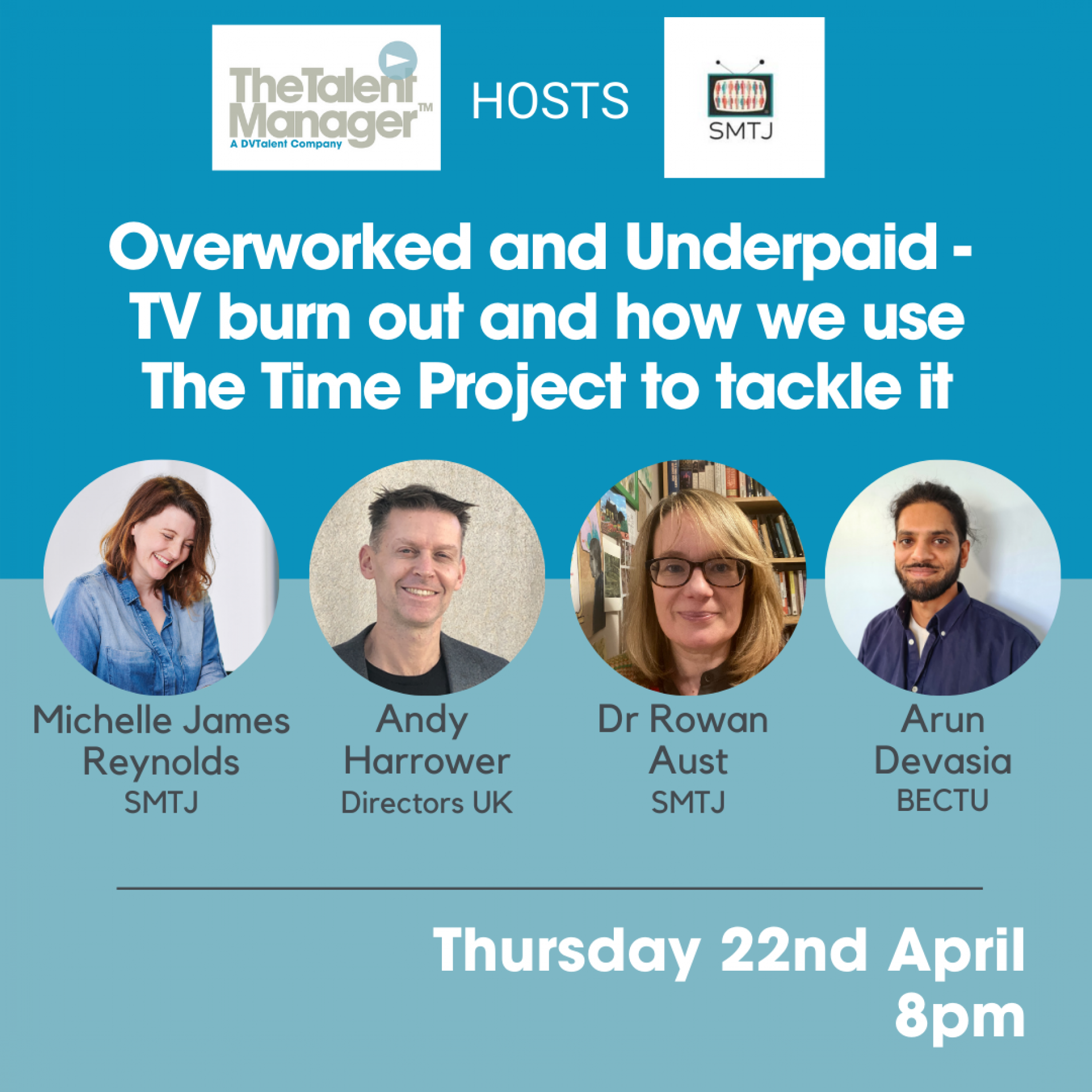 Overworked and Underpaid - TV burn out and how we use The Time Project to tackle it