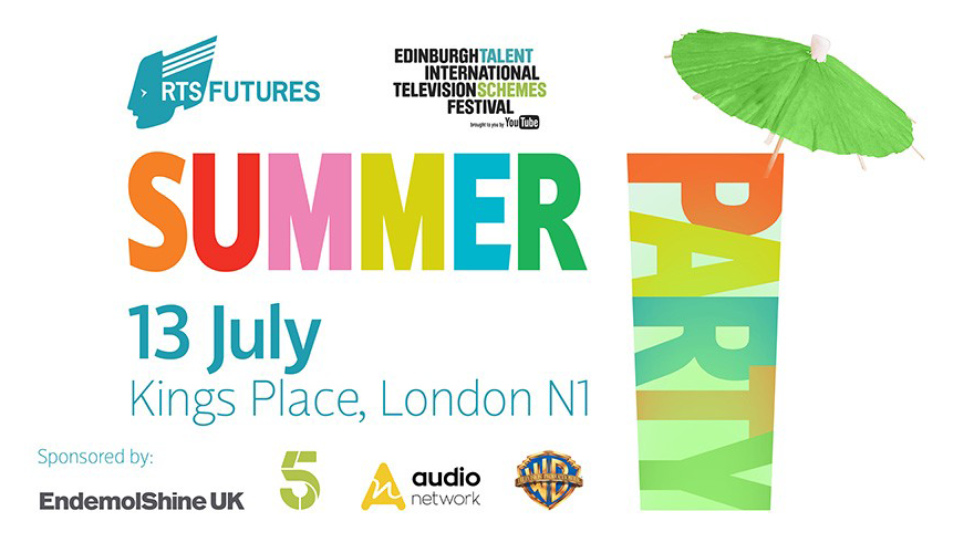 advert for rts summer party